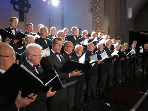 Der Chor in Aktion_2