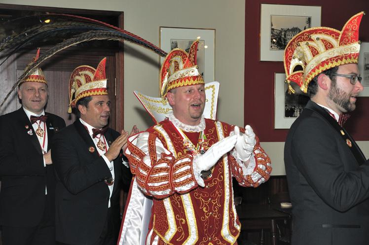 Einmarsch Prinz Michael I. mit Gefolge