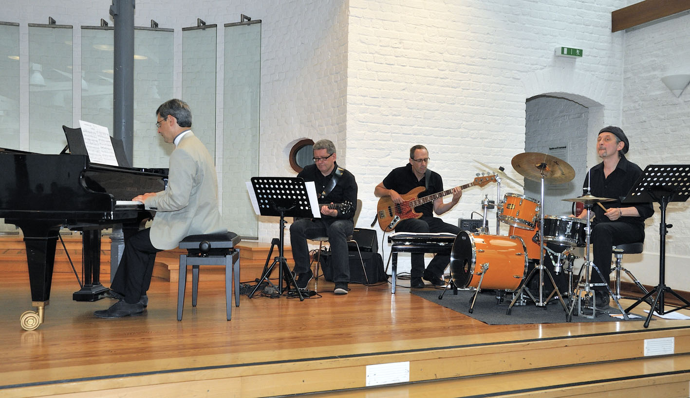 Pavel Brochin und Combo-Band