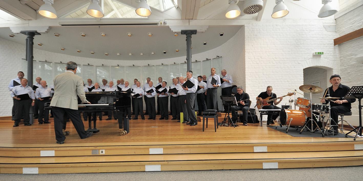 Chor mit Combo-Band