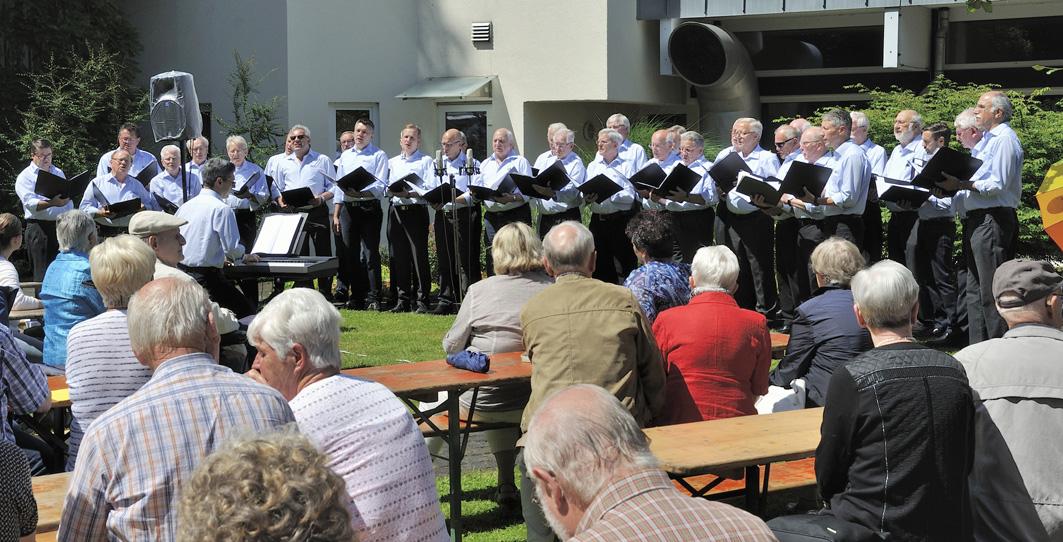 Foto Chor mit Publikum