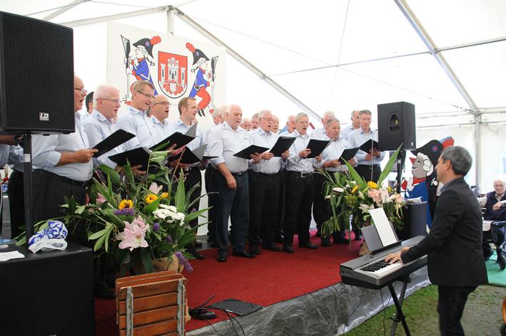 MGV singt bei den Stadtsoldaten
