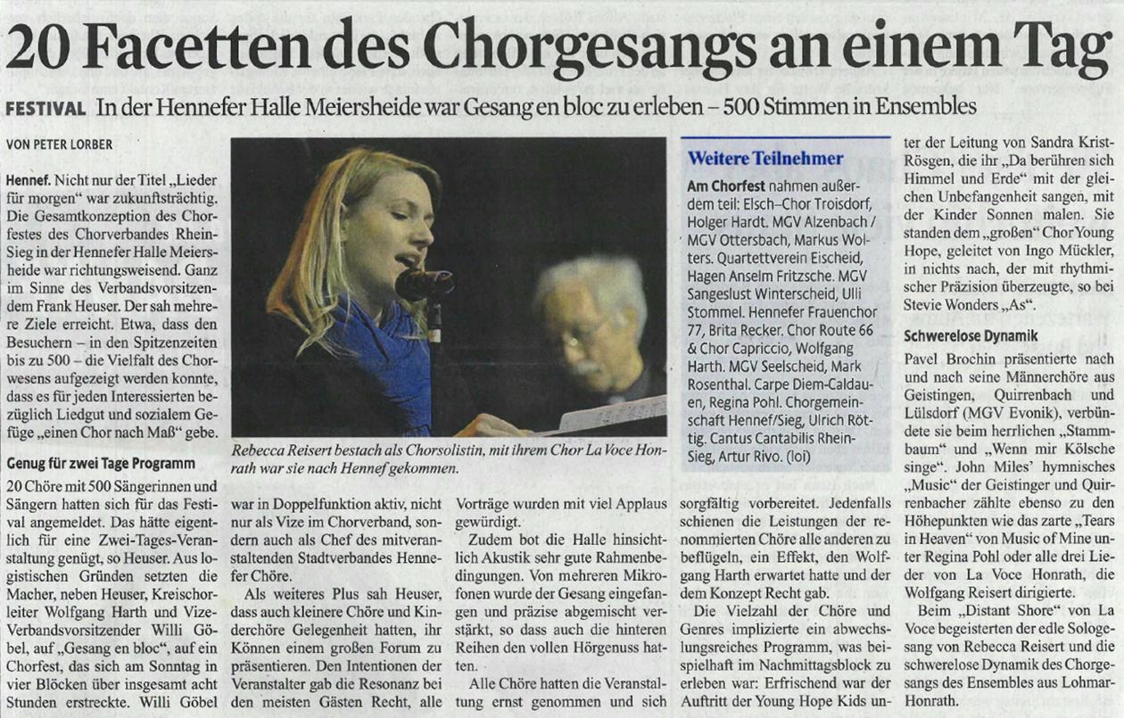 Presseartikel Rundschau