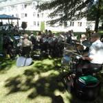 Der Musikverein Allner spielt