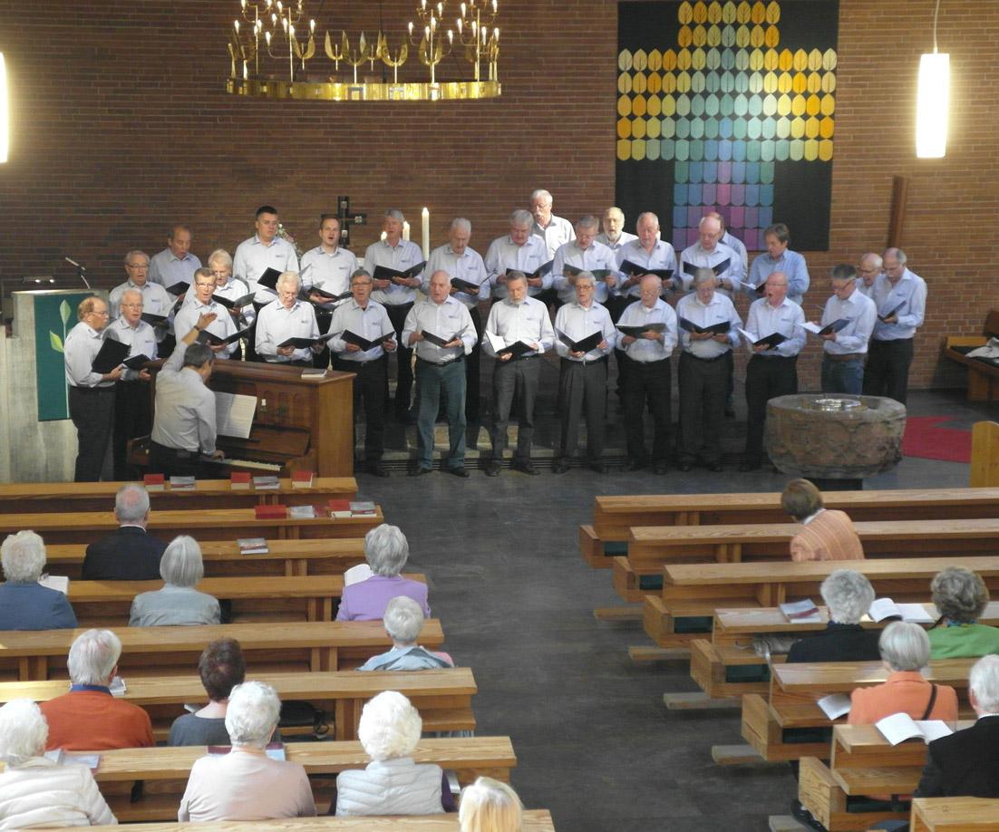 MGV Geistingen in der Christuskirche Hennef