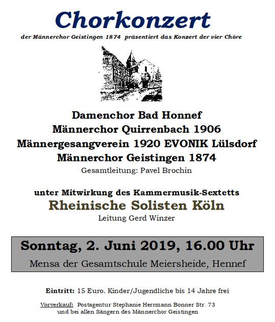 Einladung zum Chorkonzert_Plakat