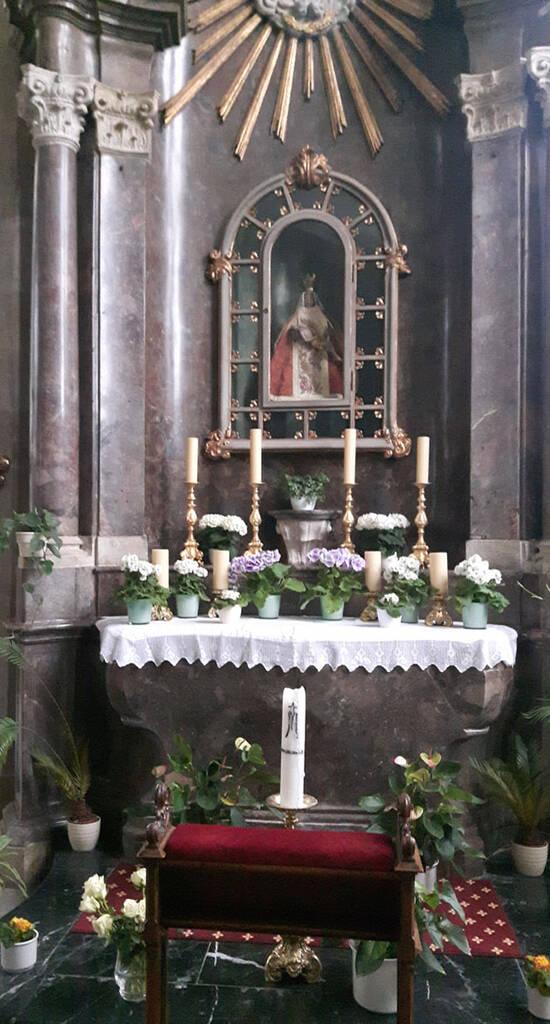 Marienaltar mit Pieta