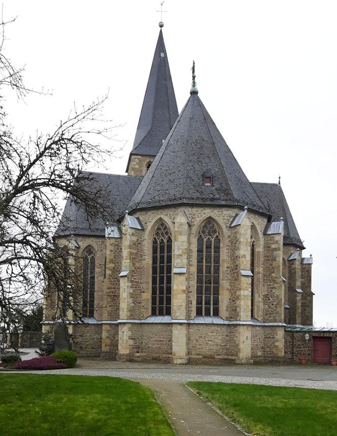 """Pfarrkirche """"Zur schmerzhaften Mutter"""" in Bödingen"""